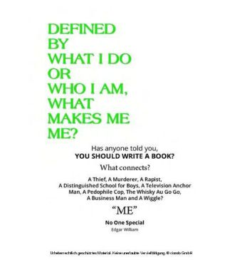 Defined By What I Do or Who I Am, What Makes Me Me?