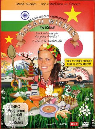 Die kulinarischen Abenteuer der Sarah Wiener in Asien, 2 DVDs