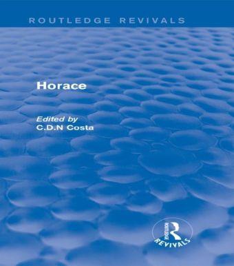 Horace (Routledge Revivals)