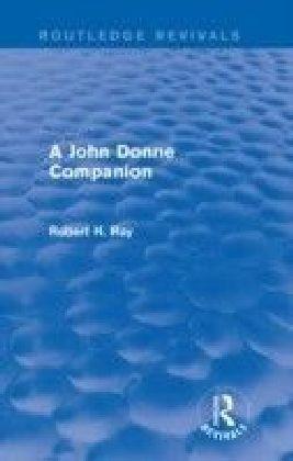 John Donne Companion (Routledge Revivals)
