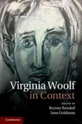 Virginia Woolf in Context