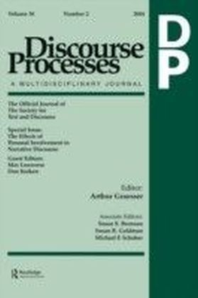 Effects of Personal Involvement in Narrative Discourse