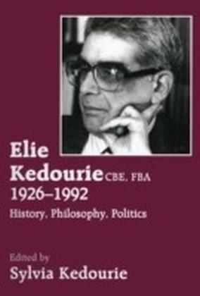 Elie Kedourie, CBE, FBA 1926-1992