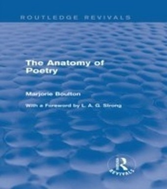 Anatomy of Poetry (Routledge Revivals)