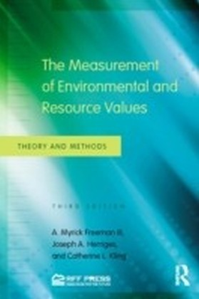 Measurement of Environmental and Resource Values