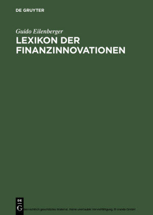 Lexikon der Finanzinnovationen