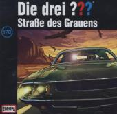 Die drei ??? - Straße des Grauens, 1 Audio-CD Cover