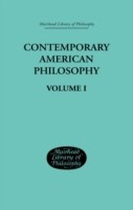 Contemporary American Philosophy
