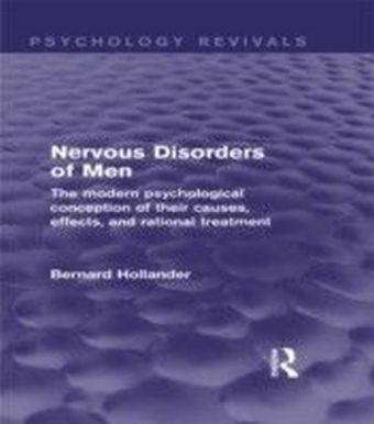 Nervous Disorders of Men (Psychology Revivals)