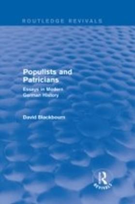 Populists and Patricians (Routledge Revivals)