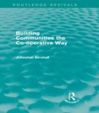 Building Communities (Routledge Revivals)