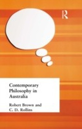 Contemporary Philosophy in Australia