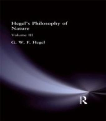 Hegel's Philosophy of Nature