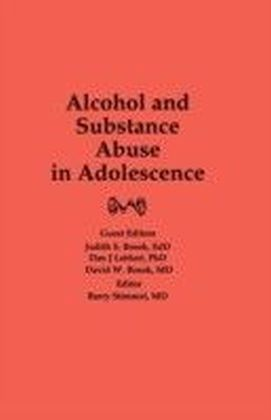 Alcohol and Substance Abuse in Adolescence