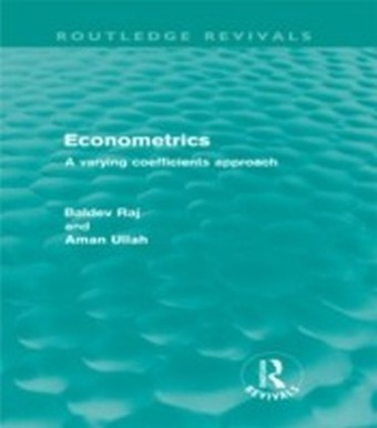 Econometrics (Routledge Revivals)