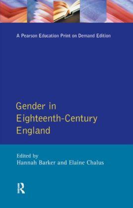 Gender in Eighteenth-Century England
