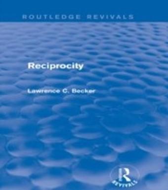Reciprocity (Routledge Revivals)