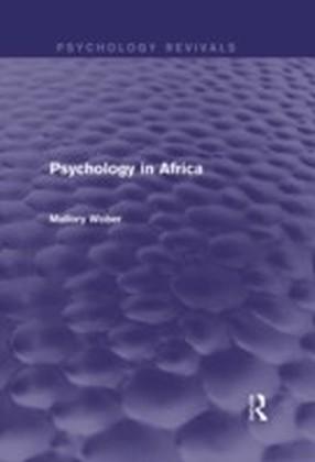 Psychology in Africa (Psychology Revivals)