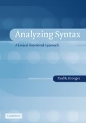 Analyzing Syntax