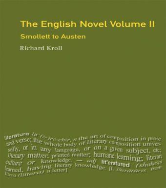 The English Novel, Vol II