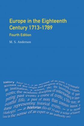 Europe in the Eighteenth Century 1713-1789