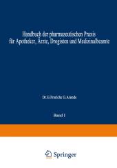 Hagers Handbuch der Pharmazeutischen Praxis, 2 Tle.
