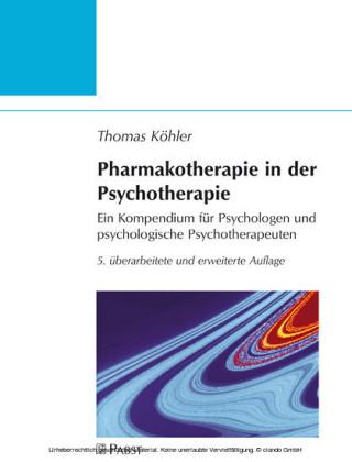 Pharmakotherapie in der Psychotherapie