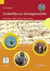 Crashkurs Musikgeschichte, m. DVD Cover