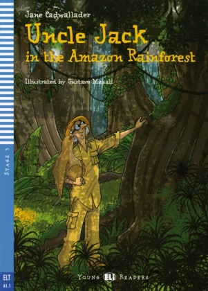 Uncle Jack in the Amazon Rainforest, m. Audio-CD