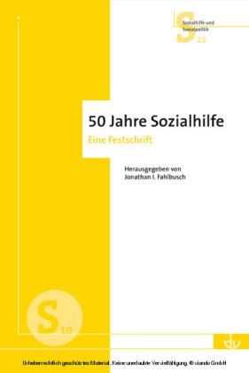 50 Jahre Sozialhilfe