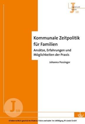 Kommunale Zeitpolitik für Familien