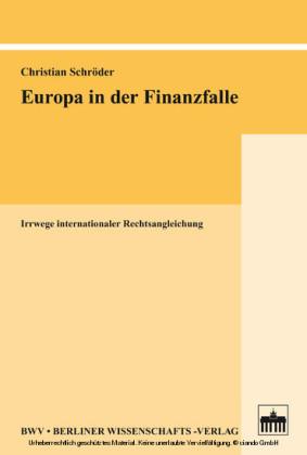 Europa in der Finanzfalle