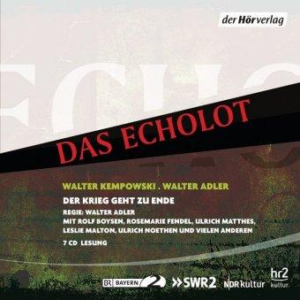 Das Echolot - Der Krieg geht zu Ende, 7 Audio-CDs