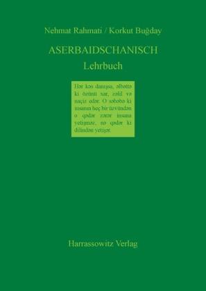 Aserbaidschanisch Lehrbuch