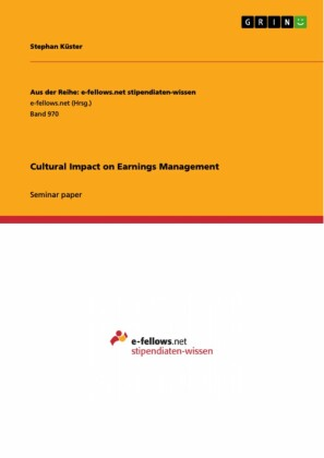 Cultural Impact on Earnings Management
