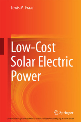 Low-Cost Solar Electric Power