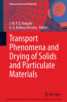 Transport Phenomena and Drying of Solids and Particulate Materials