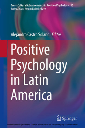 Positive Psychology in Latin America