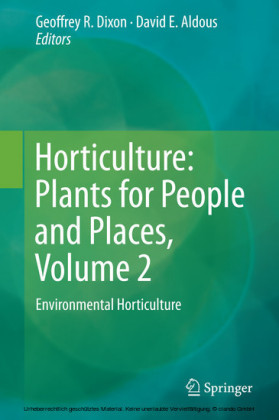 Horticulture: Plants for People and Places, Volume 2
