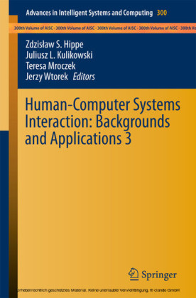 Human-Computer Systems Interaction: Backgrounds and Applications 3