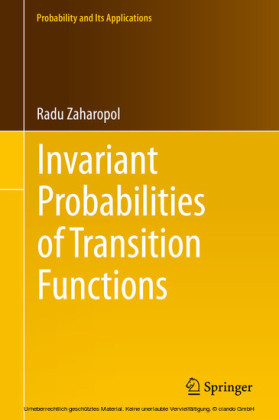 Invariant Probabilities of Transition Functions