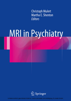MRI in Psychiatry