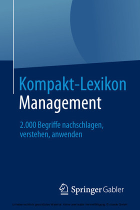 Kompakt-Lexikon Management