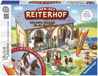 Tier-Set Reiterhof (Kinderspiel)