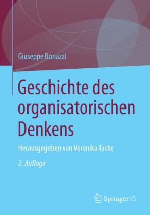 Geschichte des organisatorischen Denkens