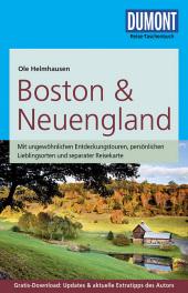 DuMont Reise-Taschenbuch Reiseführer Boston & Neuengland Cover