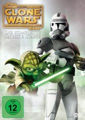 Star Wars, The Clone Wars, 3 DVDs Cover