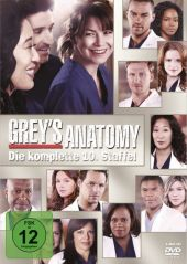 Grey's Anatomy, 6 DVDs Cover