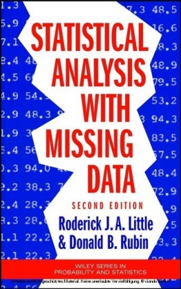 Statistical Analysis with Missing Data,