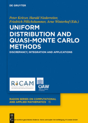 Uniform Distribution and Quasi-Monte Carlo Methods